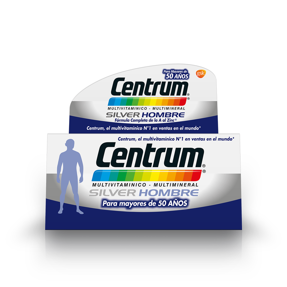 Box of centrum silver men