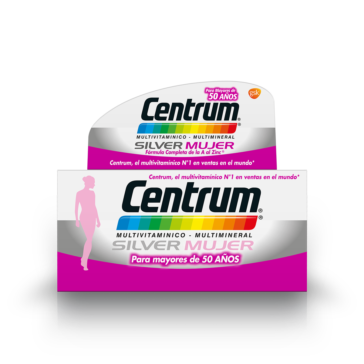Box of Centrum Silver Women